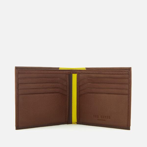 66ad683b4f924 Ted Baker Men s Baldi Corner Detail Bifold Wallet - Tan Mens ...