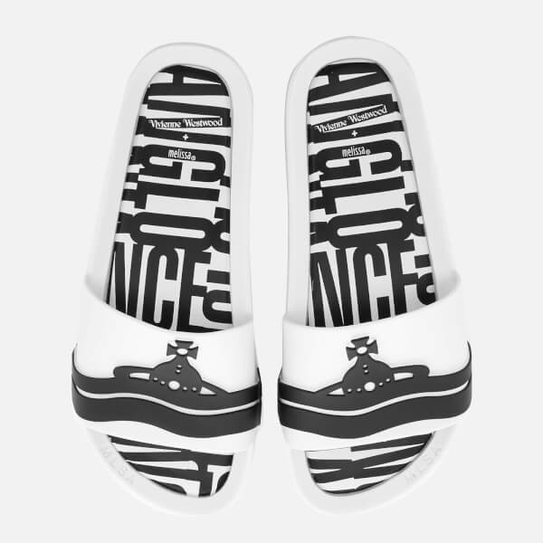 Vivienne Westwood for Melissa Women's Beach Slide 20 Sandals - White Contrast