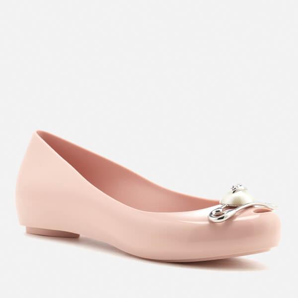 Vivienne Westwood Women's Ultragirl 19 Ballet Flats - Blush Pin - UK 6 Sale 100% Authentic Eqvn9