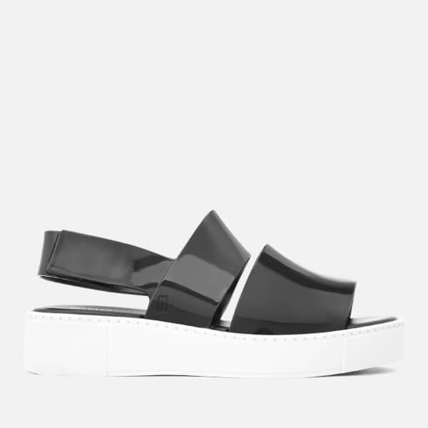 Melissa Women's Soho Flatform Sandals - Black Contrast