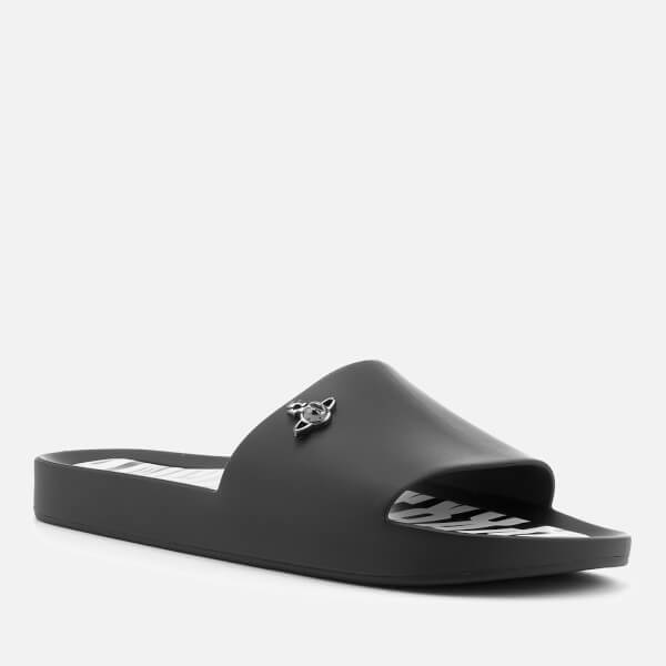 1fabdcfdc71bc2 Vivienne Westwood for Melissa Women s Beach Slide 20 Sandals - Black Orb   Image 2