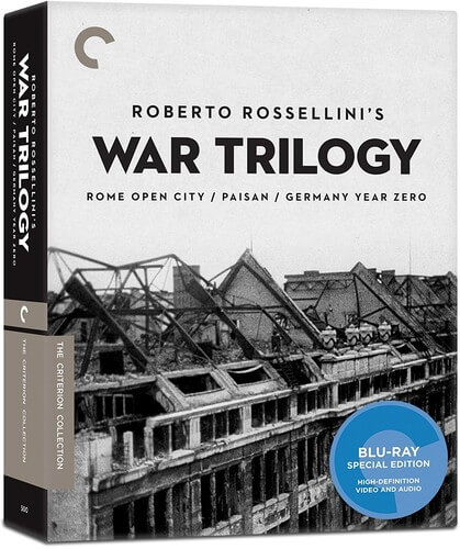 Criterion Coll: Roberto Rossellini's War Trilogy