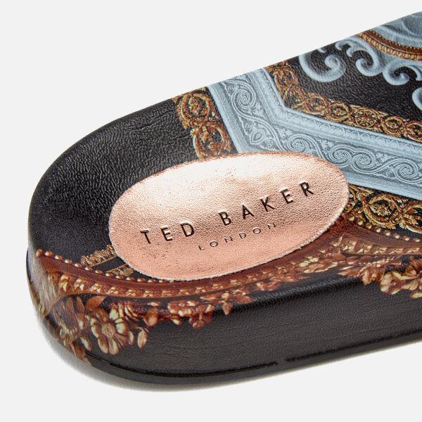 466dde7d4 Ted Baker Women s Aveline Slide Sandals - Black Versailles  Image 3