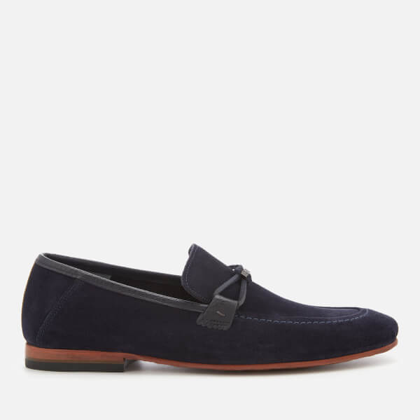 Ted Baker Men's Hoppken Suede Loafers - Dark Blue