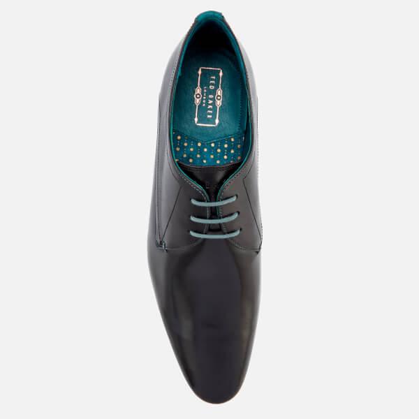0b9bb031685c Ted Baker Men s Bhartli Leater Derby Shoes - Black  Image 3