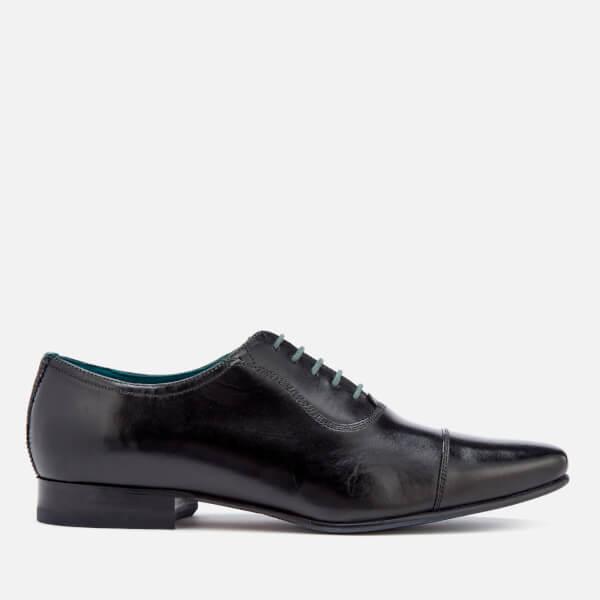 Ted Baker Men's Karney Leather Toe Cap Oxford Shoes - Black