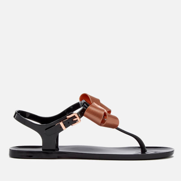 Ted Baker Women S Camaril Toe Post Sandals Black Free