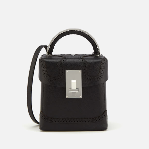 The Volon Women's Box Alice Bag - Black