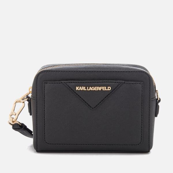 Karl Lagerfeld Women's K/Klassik Camera Bag - Black/Gold