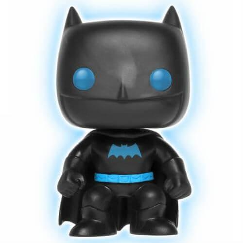 DC Justice League Batman Glow in the Dark Silhouette EXC Pop! Vinyl Figure