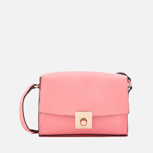 Furla Women's Milano Small Cross Body Bag - Rose