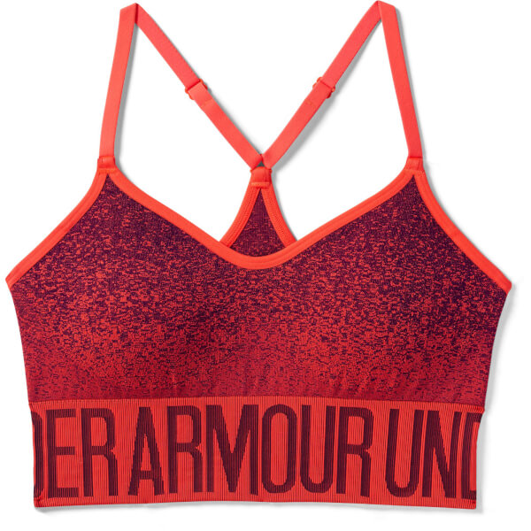 cbdcae159f Under Armour Women s Seamless Ombre Novelty Sports Bra - Red Sports ...
