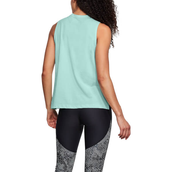 a68a0b92 Under Armour Women's Graphic Muscle Tank Top - Green Sports ...