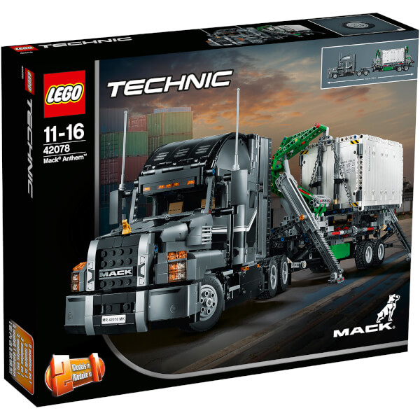LEGO Technic: Mack Anthem (42078) Toys | TheHut.com