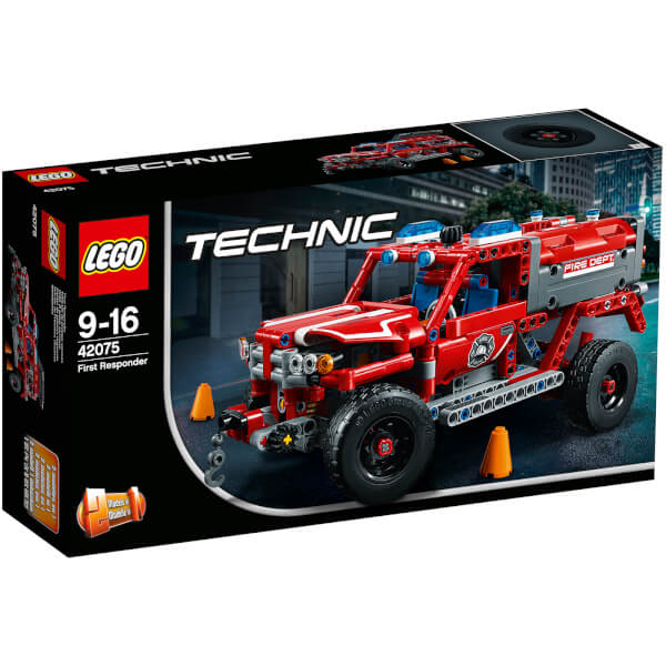 lego technic first responder 42075 toys. Black Bedroom Furniture Sets. Home Design Ideas