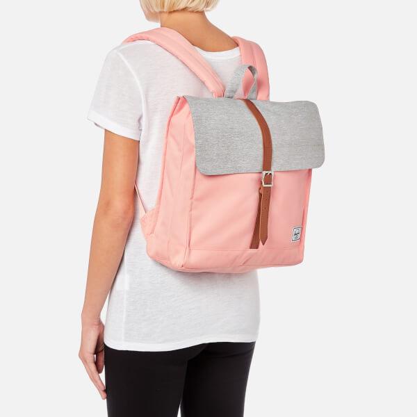 58cd81157c Herschel Supply Co. Women s City Mid-Volume Backpack - Peach Light Grey  Crosshatch