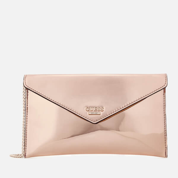 Guess Women s Spring Fling Cross Body Clutch Bag - Rose Gold  Image 1 fe5dd2c9695ba