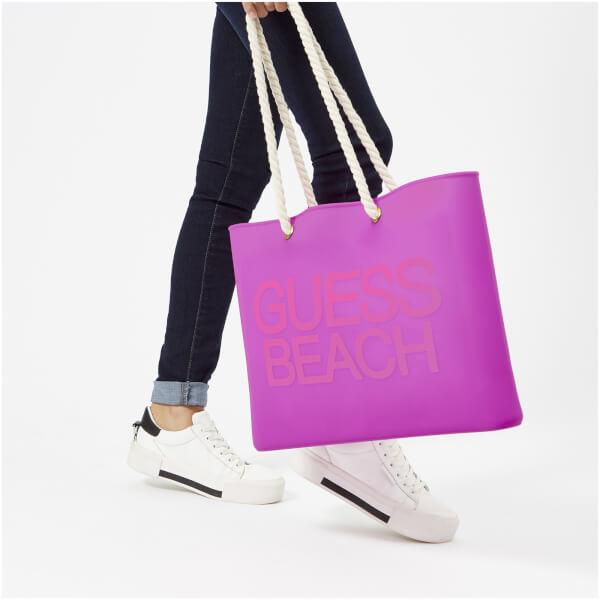 44ec0ee9df Guess Women s Beach Bag - Fierce Purple  Image 3