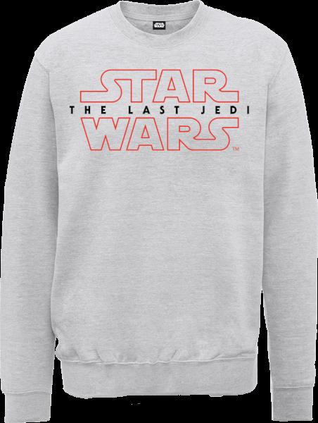 Star Wars The Last Jedi Men's Grey Sweatshirt