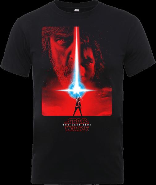 Star Wars The Last Jedi The Force Black T-Shirt