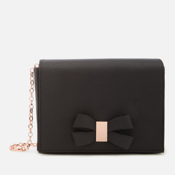 Ted Baker Women's Stacyy Looped Bow Evening Bag - Black