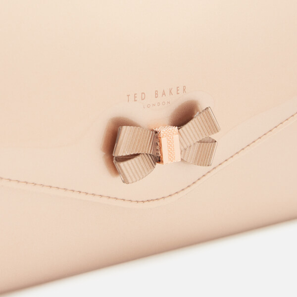 ca9c170065e Ted Baker Women s Luanne Bow Envelope Pouch - Rose Gold  Image 4