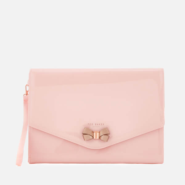 Ted Baker Women's Luanne Bow Envelope Pouch - Pale Pink