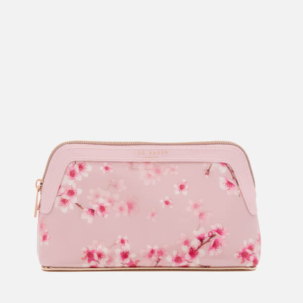 Ted Baker Women's Paget Soft Blossom Make Up Bag - Light Pink