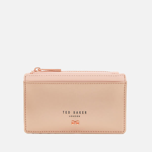 Ted Baker Women's Alica Zipped Card Holder - Rose Gold