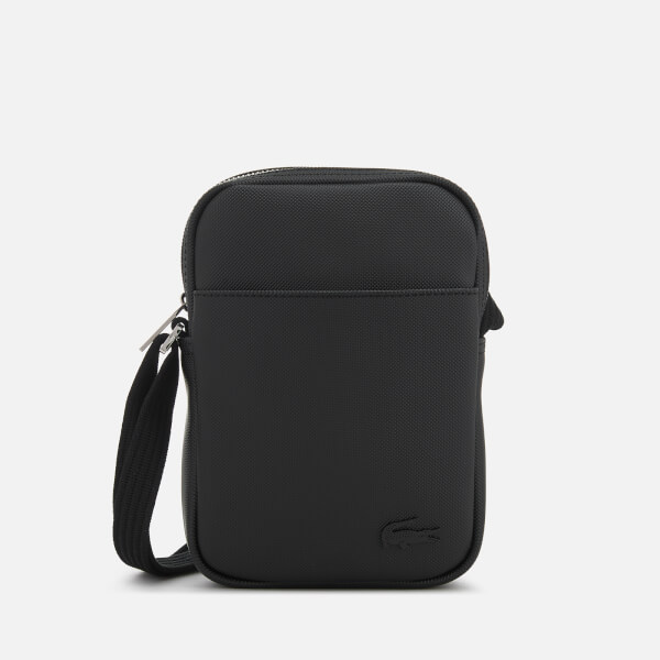 856d703ec Lacoste Men s Slim Vertical Camera Bag - Black  Image 1