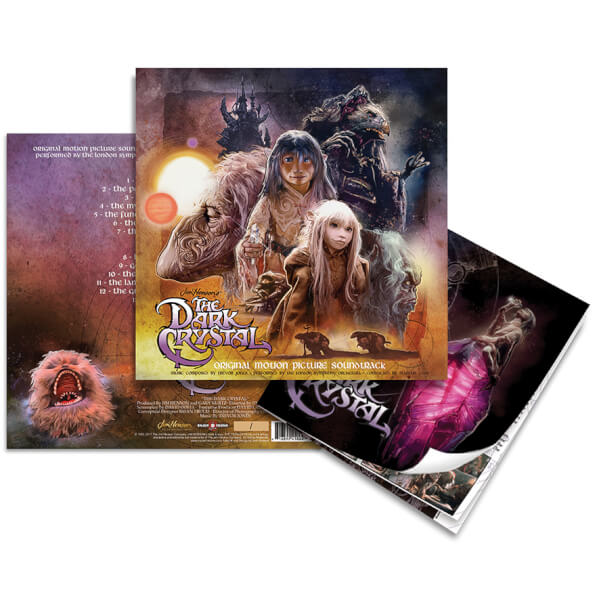 Dark Crystal Bande-Originale Vinyle - Steelbook Édition Limitée Exclusivité Zavvi 300 copies 11639539-1034539769352316