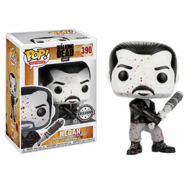 The Walking Dead Negan Black and White EXC Pop! Vinyl Figure