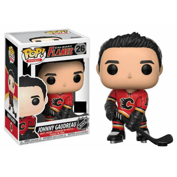 NHL Johnny Gaudreau Home Jersey EXC Pop! Vinyl Figure