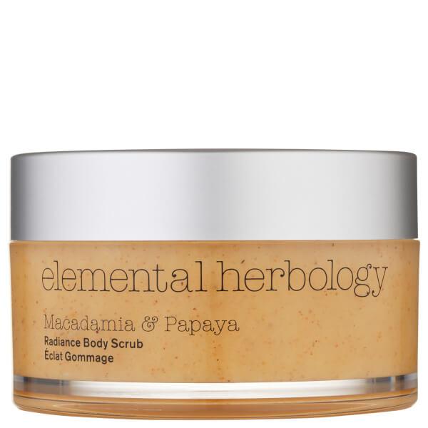 Elemental Herbology Macadamia and Papaya Body Scrub 200ml
