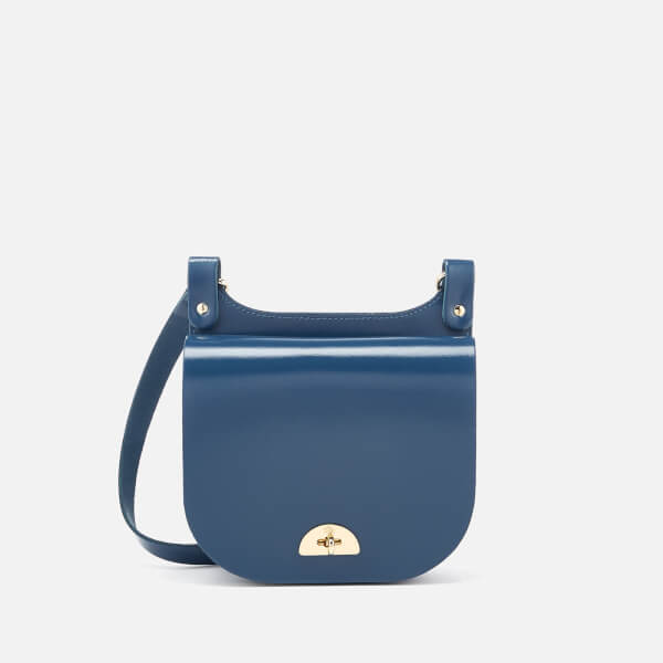 22e22d1e56f3 The Cambridge Satchel Company Women s Small Conductor s Bag - Peacock  Patent  Image 1