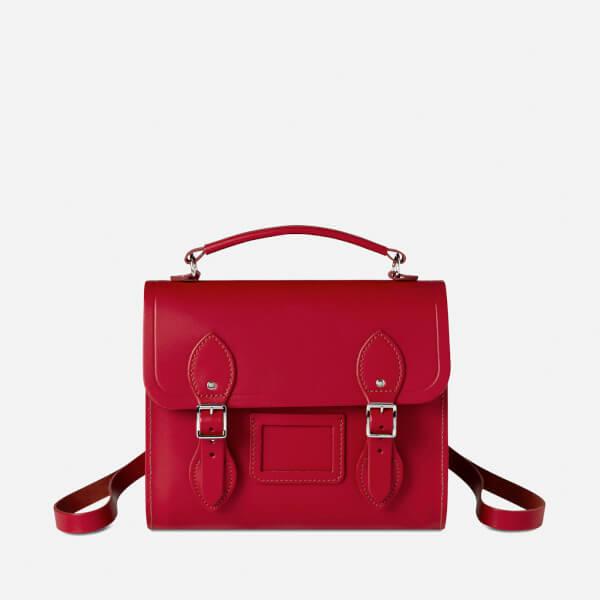 The Cambridge Satchel Company Women's Barrel Backpack - Crimson