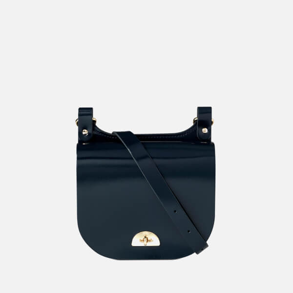 The Cambridge Satchel Company Women's Small Conductor's Bag - Patent Navy