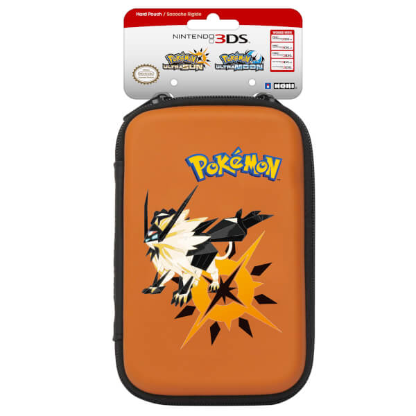 Nintendo Multi-Case Hard Pouch - Pokémon Ultra Sun & Pokémon Ultra Moon