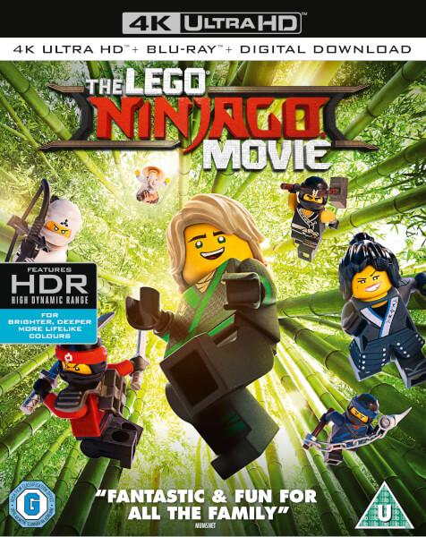The Lego Ninjago Movie 4k Ultra Hd Blu Ray Zavvi