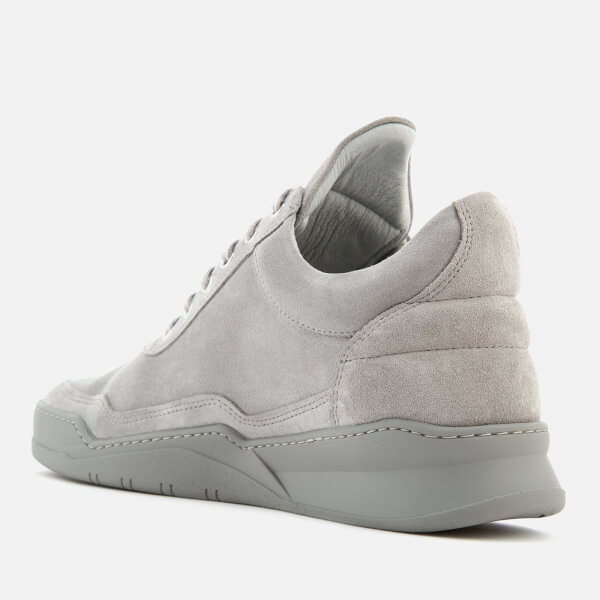 Filling pieces Men's Ghost Tone Low Top Trainers - Cement - UK 7.5 00CPBZi