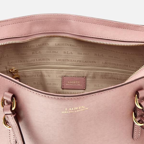Lauren Ralph Lauren Women s Bennington Shopper Bag - Rose Smoke  Image 5 0be4005eea