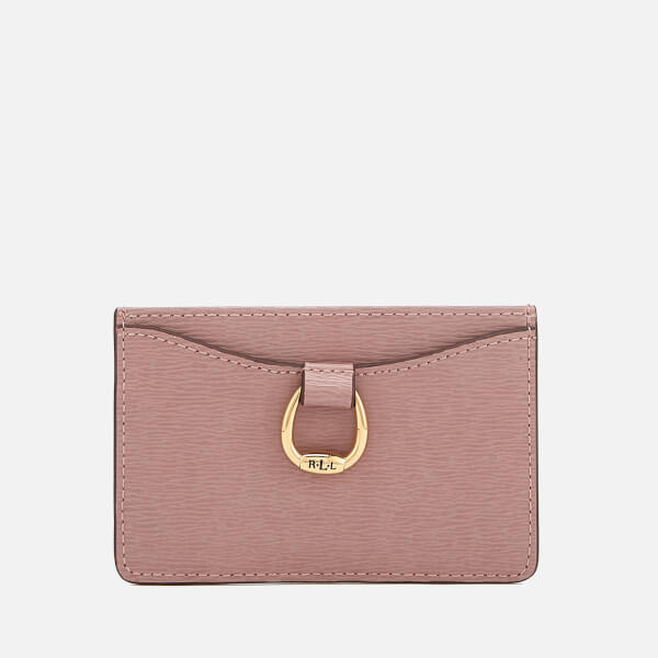 Lauren Ralph Lauren Women's Bennington Mini Card Case - Rose Smoke