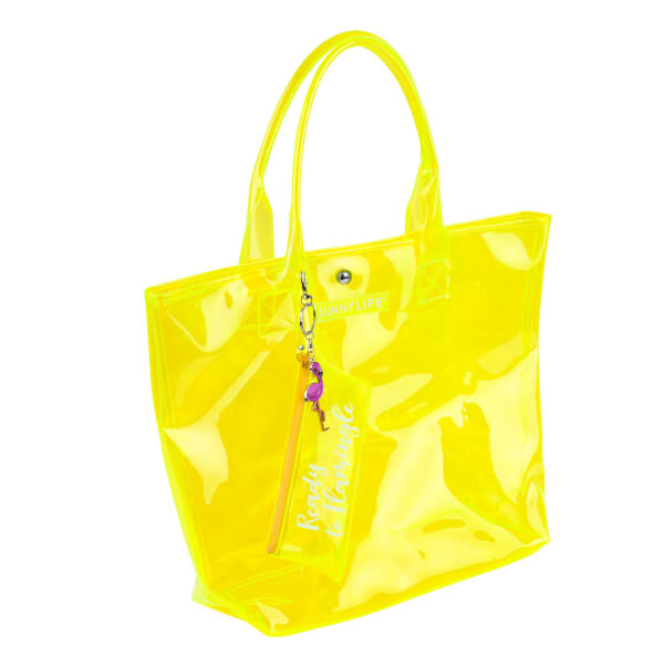 2e2a5ababf Sunnylife Market Bag - Neon Yellow  Image 3