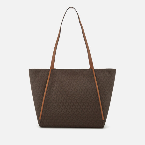 Michael Kors Women S Whitney Large Tote Bag Brown Image 2