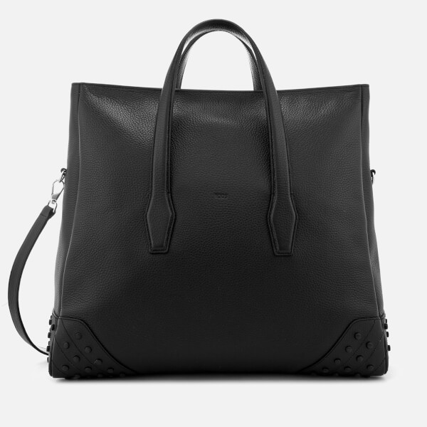 Tod S Men Gommino Weekender Bag Black Image 1