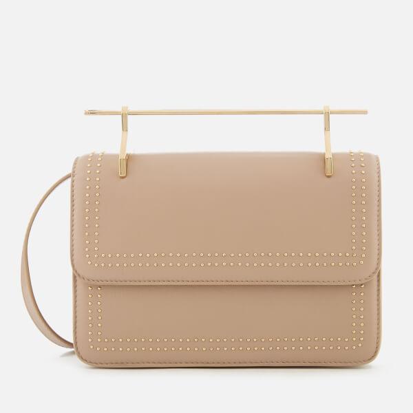 M2Malletier Women's La Fleur Du Mal Double Hardware Bag - Studded Sand/Double Gold