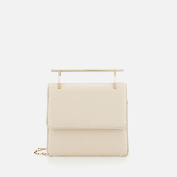 M2Malletier Women's Mini Collectionneuse Single Hardware Bag - Ivory/Single Gold Chain