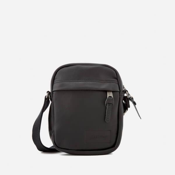 Eastpak Men's The One Leather Cross Body Bag - Black