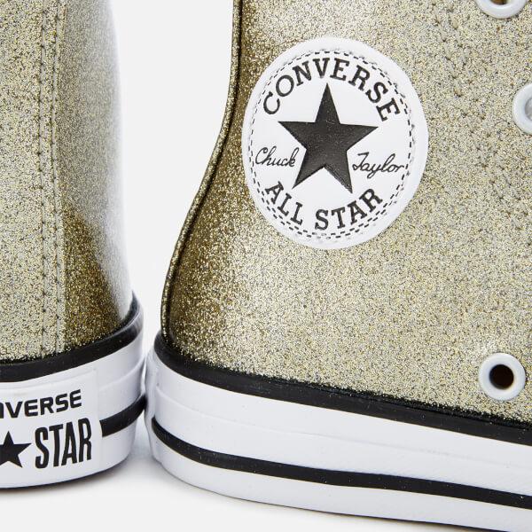 Converse Kids  Chuck Taylor All Star Hi-Top Trainers - Gold Natural ... 947fe781e