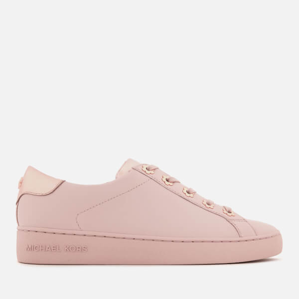 MICHAEL MICHAEL KORS Women's Irving Leather Low Top Trainers - Soft Pink